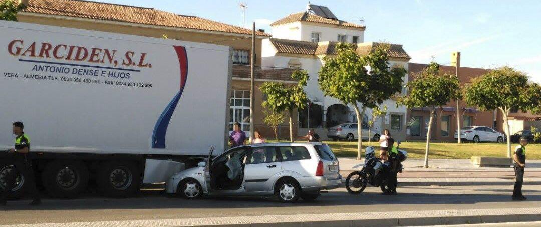 accidente en jerez avenida juan carlos I 2