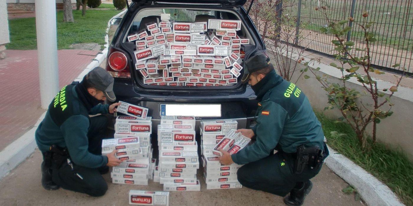tabaco contrabando guardia civil