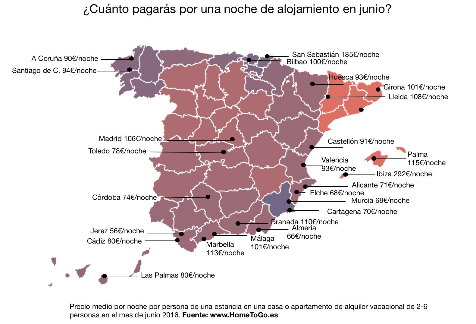 Jerez, la ciudad más económica de España para alquilar en junio - MIRA
