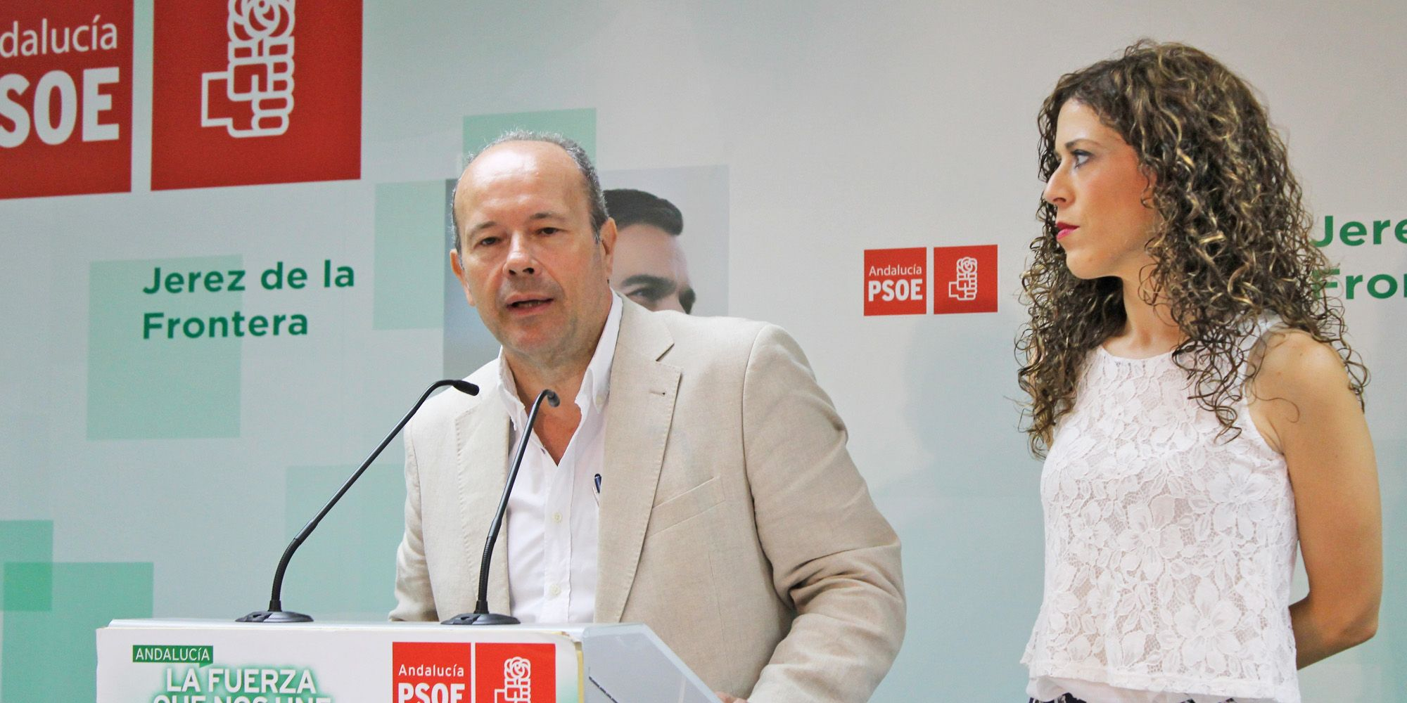 Juan Carlos Campo y Miriam Alconchel psoe jerez