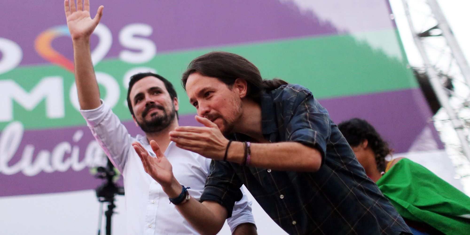 Pablo Iglesias en mitin de Unidos Podemos en la Alameda Vieja de Jerez de la Frontera   23 jun 2016   Juan Carlos Corchado para MIRA Jerez