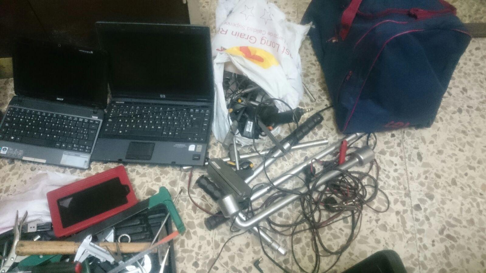 Robo taller concesionario Jerez 4