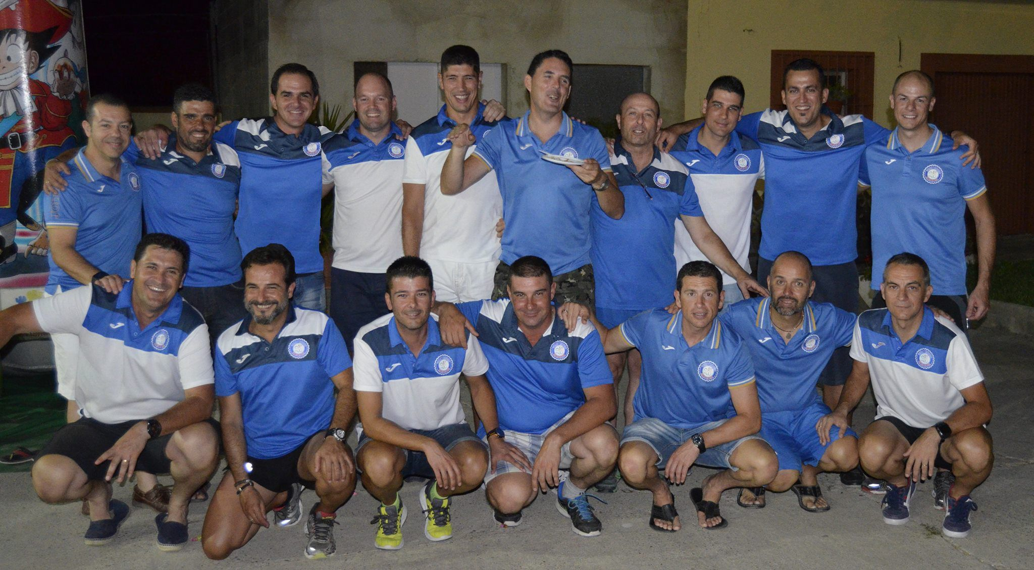 Imagen del equipo de 'Los Pupas'