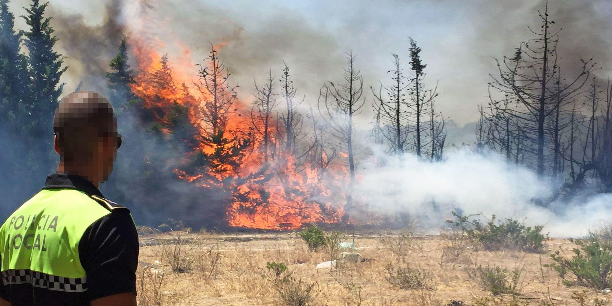 Incendio en Pinosolete 1