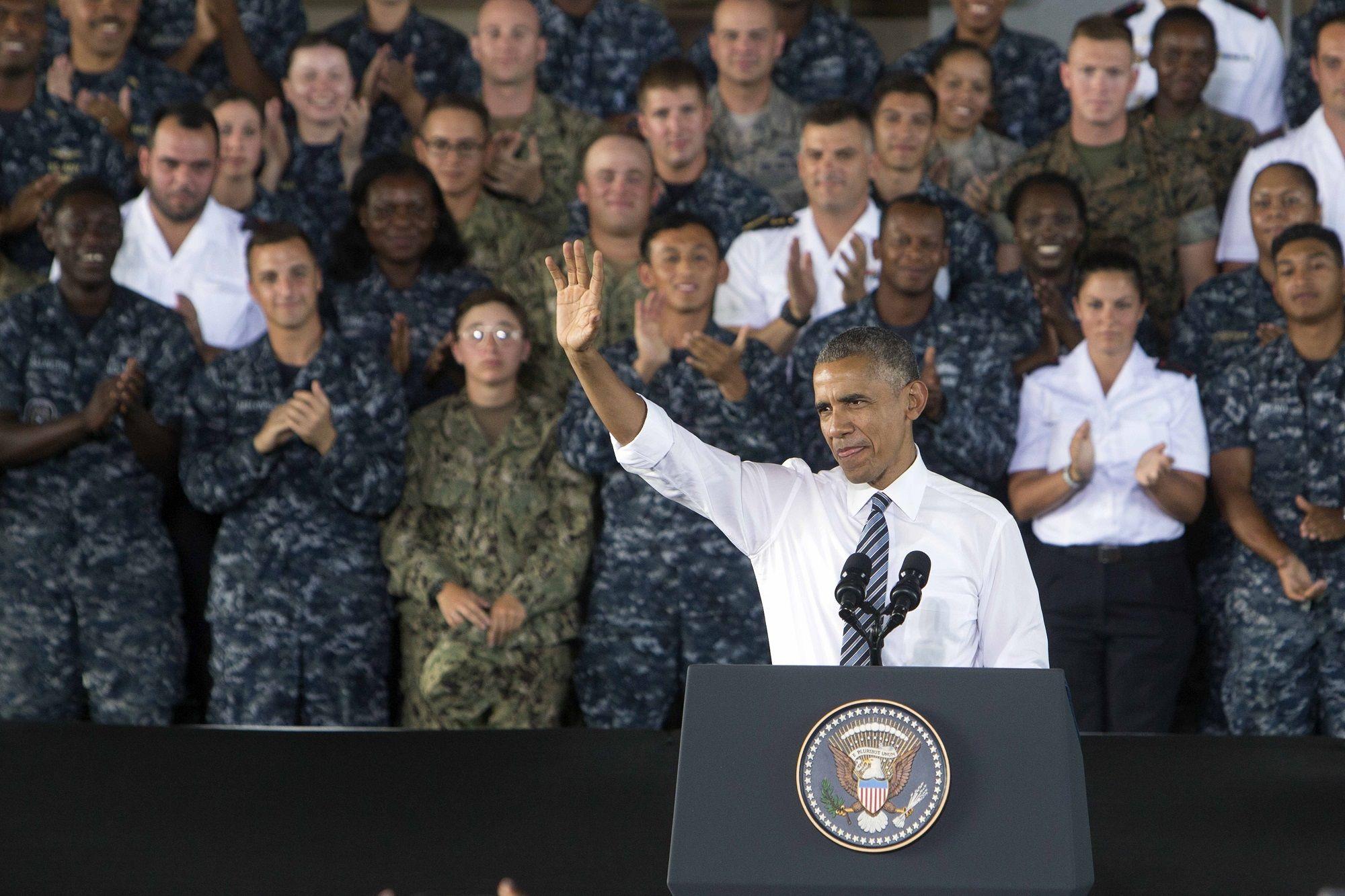 Visita de Barack Obama, presidente de los Estados Unidos de América, a la Base Naval de Rota, 10JUL2016 | Juan Carlos Corchado para MIRA Jerez