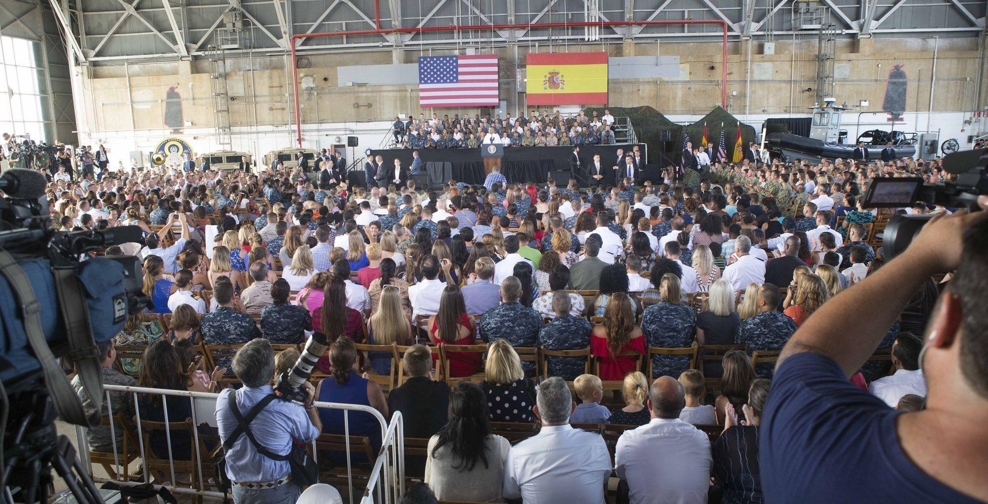 Visita de Barack Obama, presidente de los Estados Unidos de América, a la Base Naval de Rota, 10JUL2016   Juan Carlos Corchado para MIRA Jerez