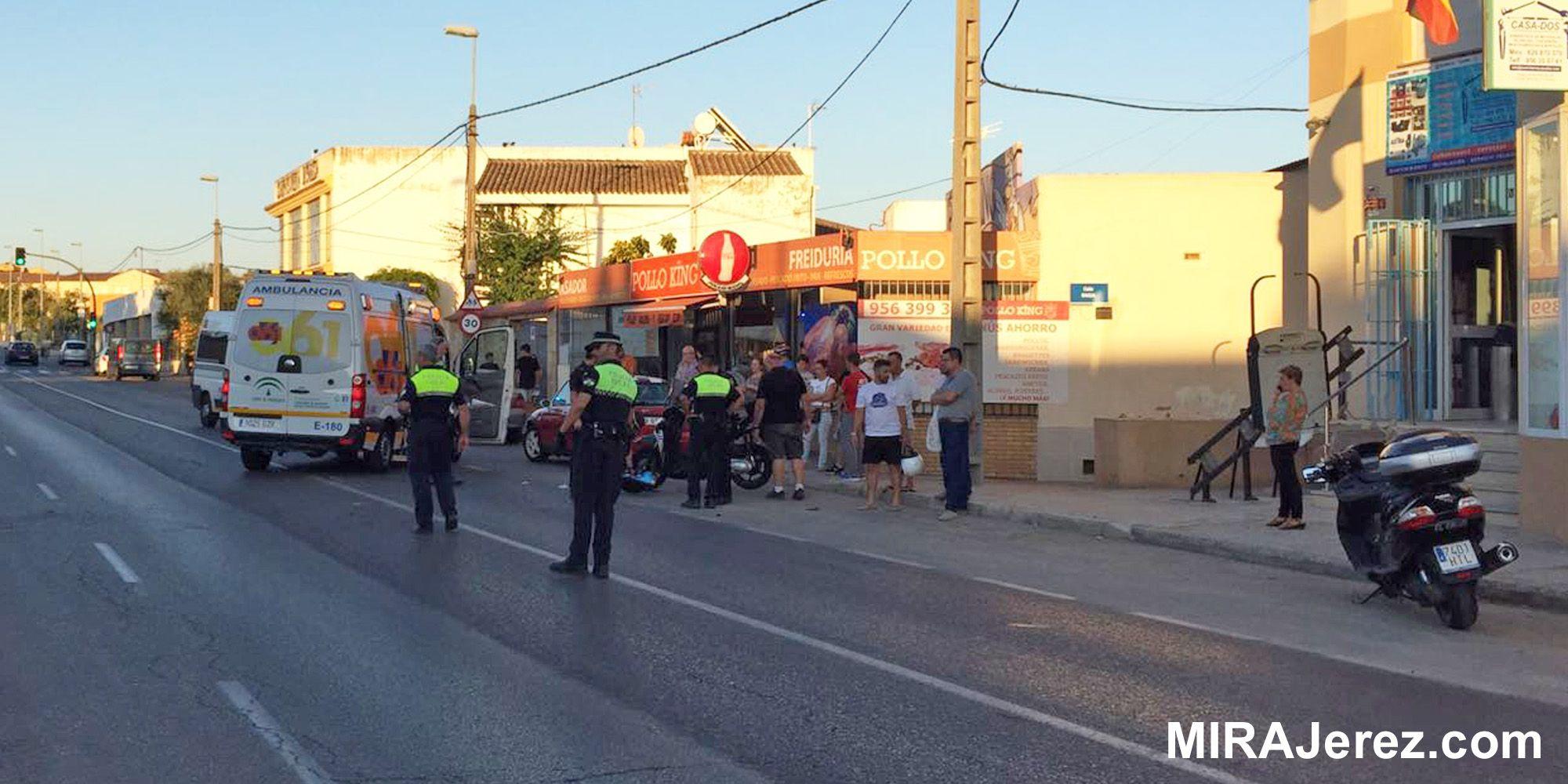 Accidente Las Delicias Jerez 2