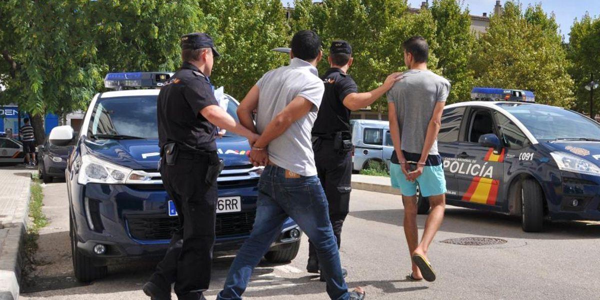 Detenidos Policia Nacional