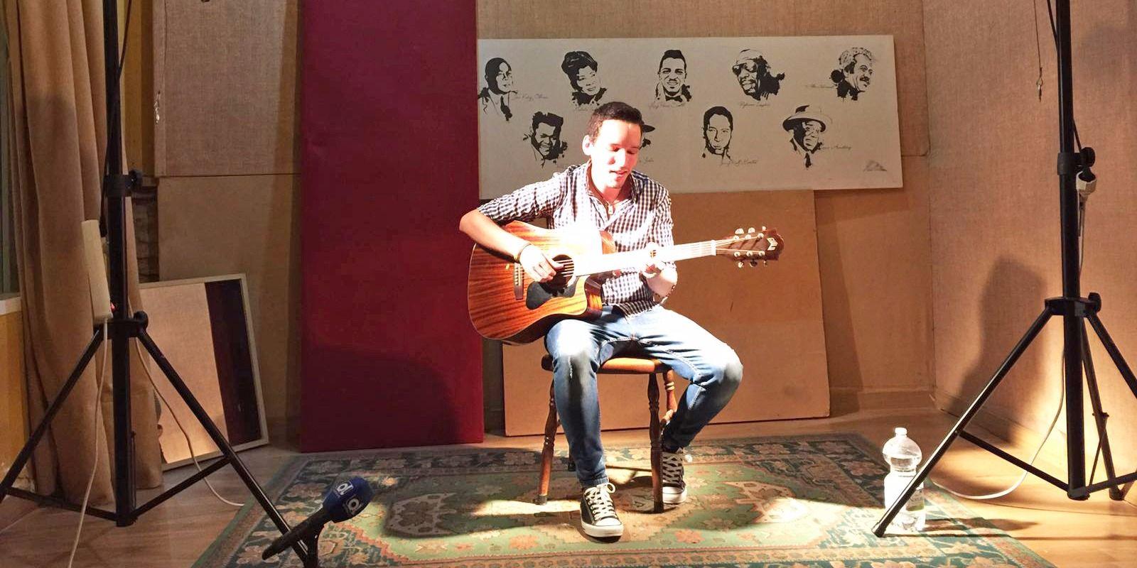 Joe Carper en el concierto ofrecido a los medios esta mañana |Mira Jerez