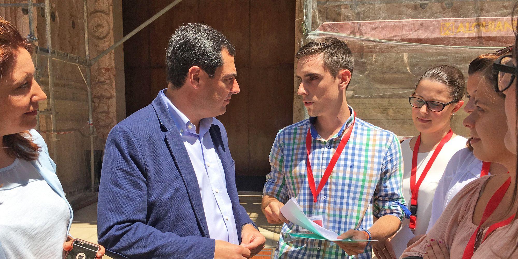 Jaime Espinar y Juanma Moreno