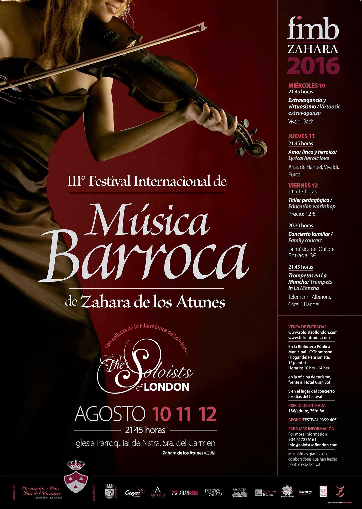 cartel musica barroca zahara