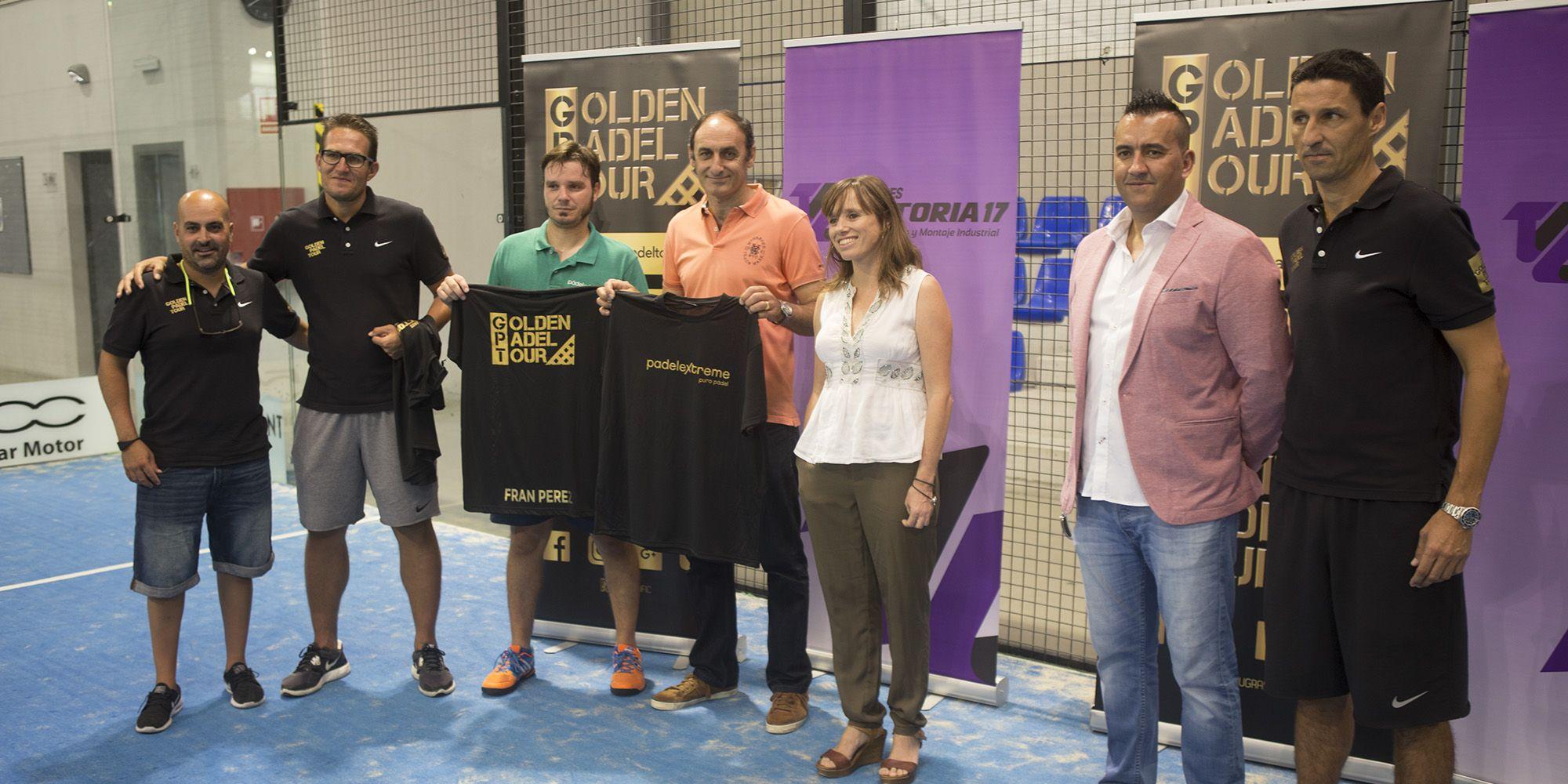Presentación de la 3ª Prueba del Golden Padel Tour Talleres Victoria 17 en las instalaciones de Padel Extreme en Jerez | Miguel Barrios para Grupo MIRA