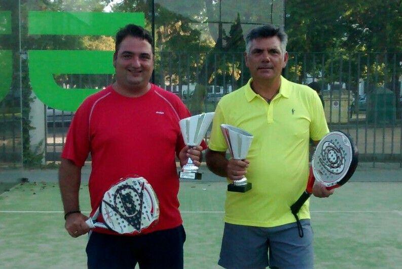 José Montes y Francisco Cano, campeones en pádel masculino