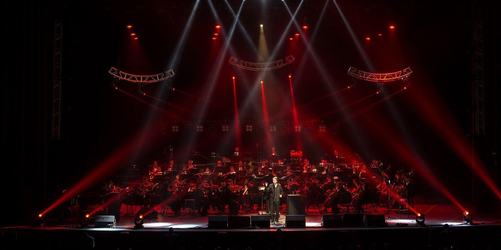 Raphael en concierto | Foto: Chino Lemus - Colección Auditorio Nacional