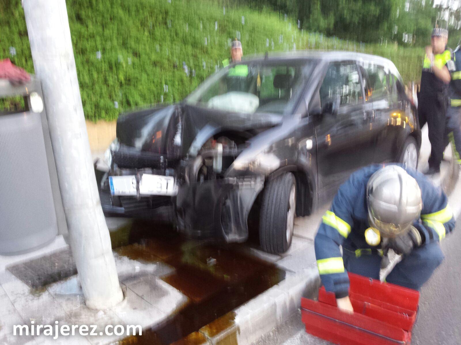 accidente Jerez 16 ago 2016 a