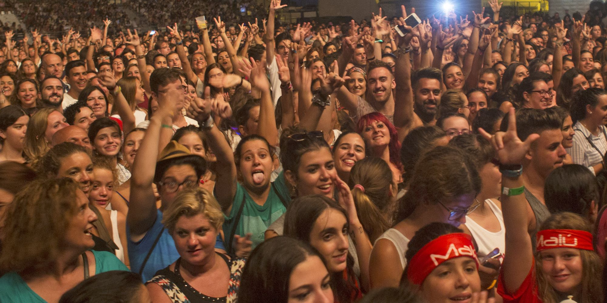 Concierto de Malú en El Puerto de Santa María dentro de su gira Tour Caos - 18 AGO 2016 | Juan Carlos Corchado para MIRA Comunicación