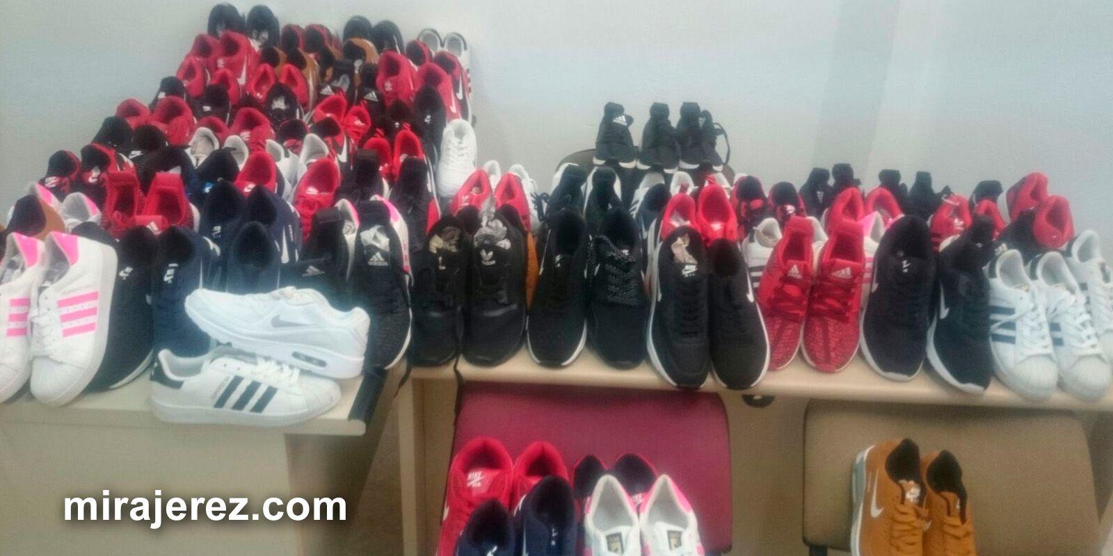 zapatillas de deporte falsificadas Adidas y Nike en Estella - Jerez - 1