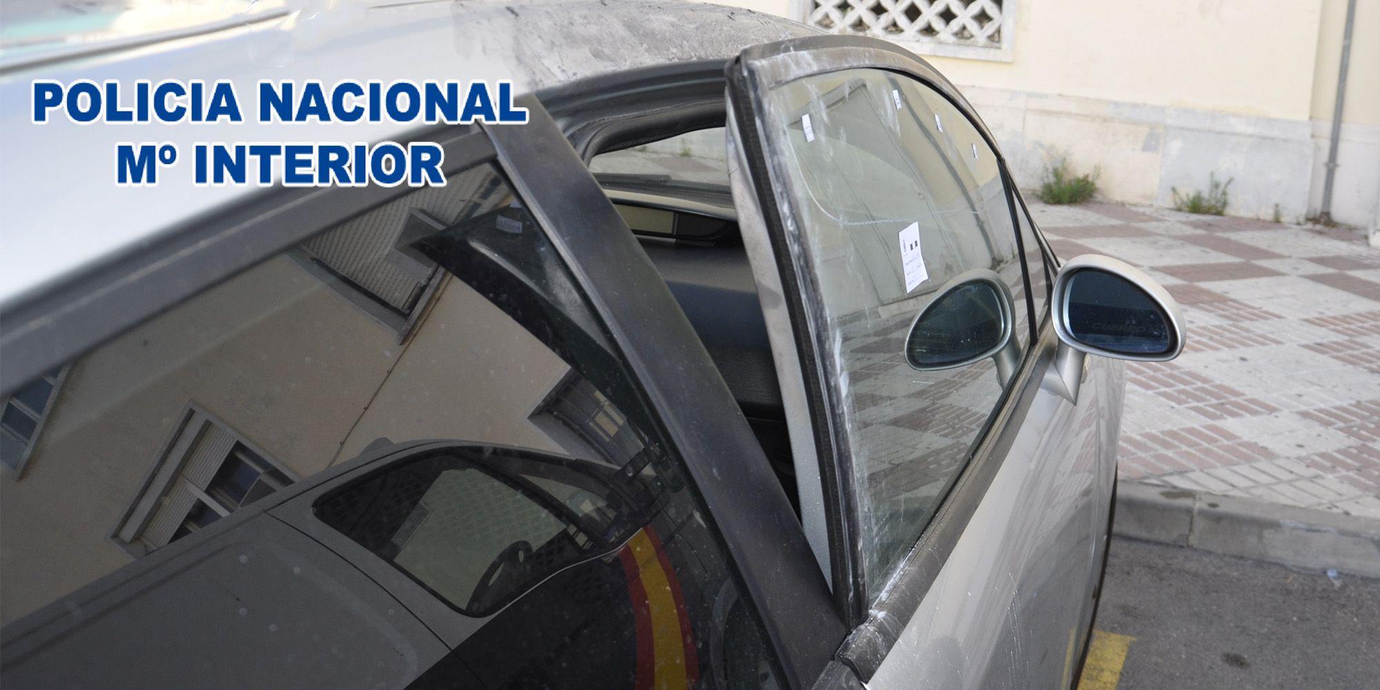 Coche robado - Policia Nacional El Puerto