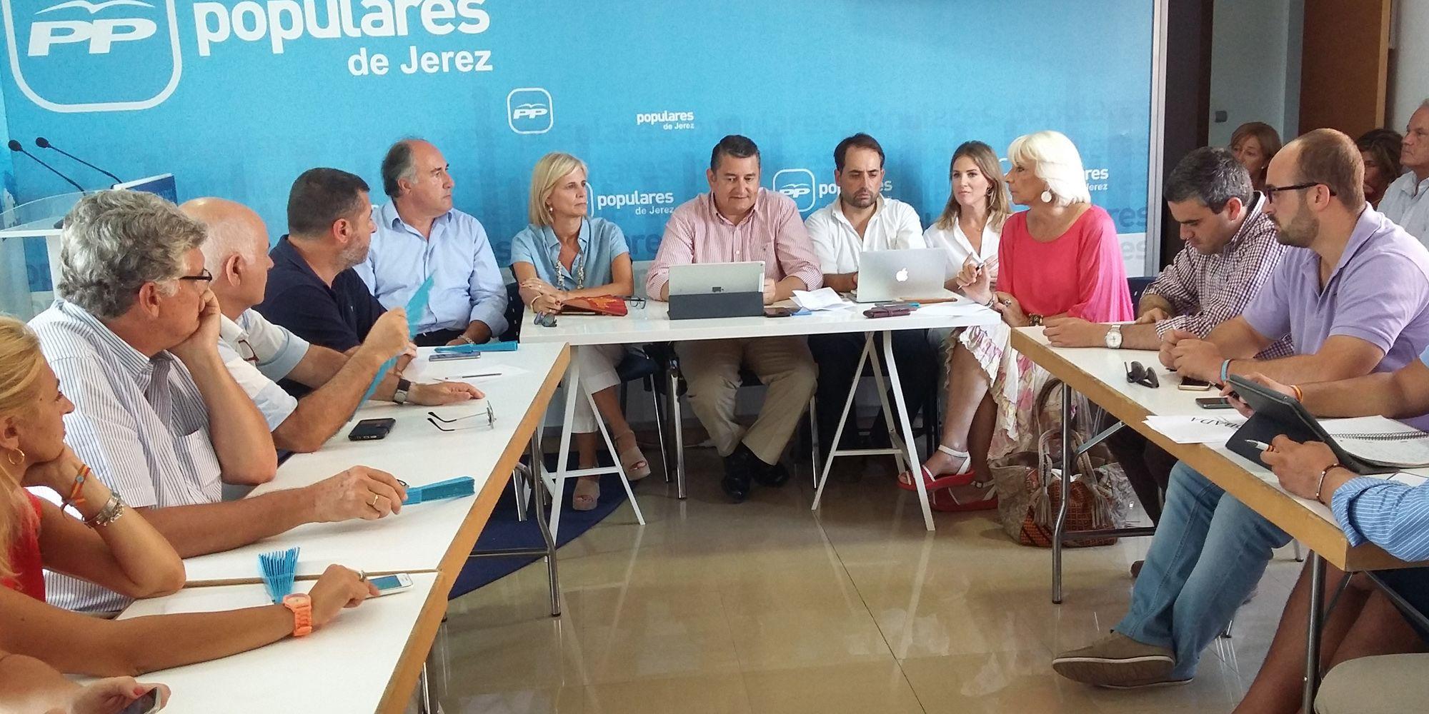 pp cadiz - comite provincial en Jerez 1