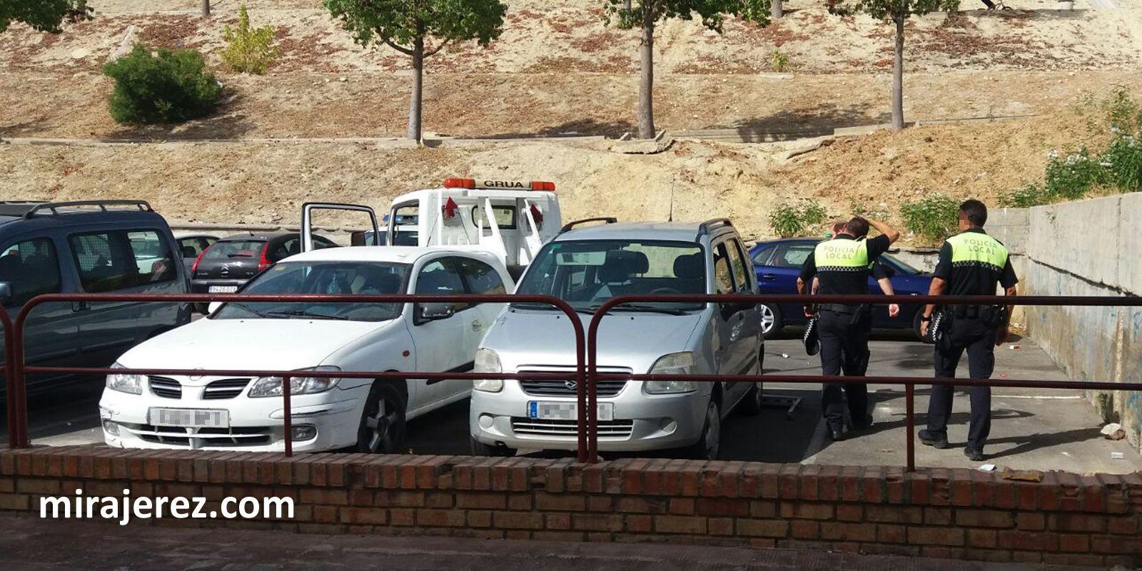 recuperacion vehiculo robado en jerez 2