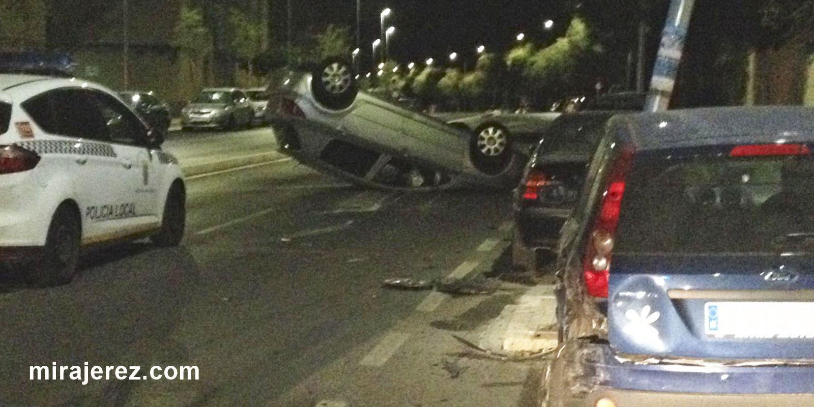 accidente en Jerez