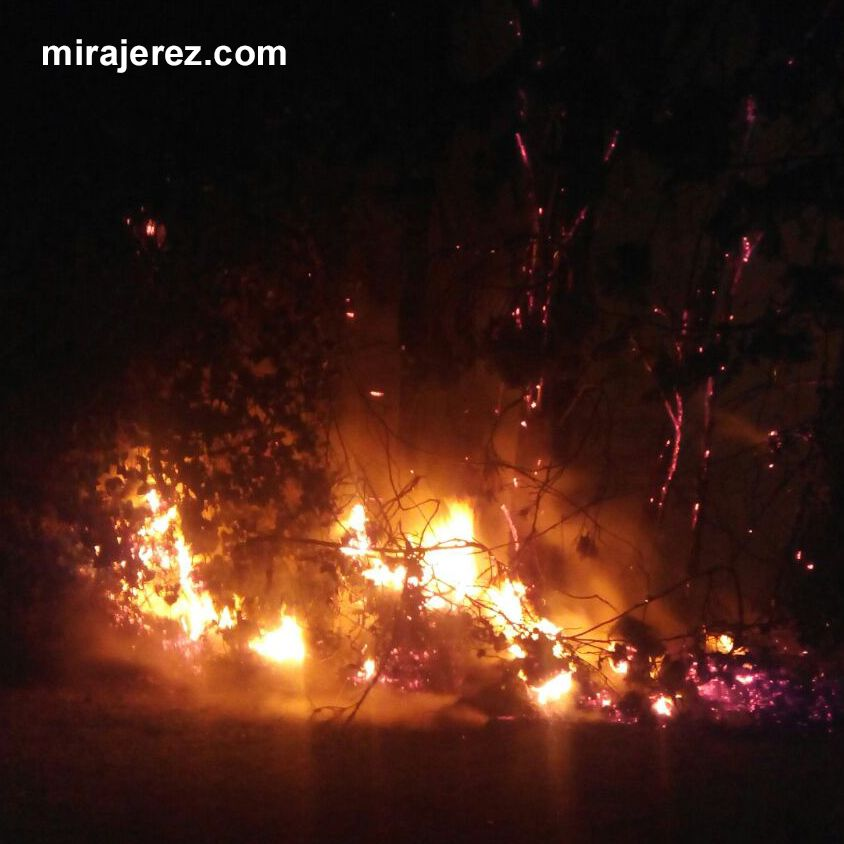 Incendio en Jerez 2