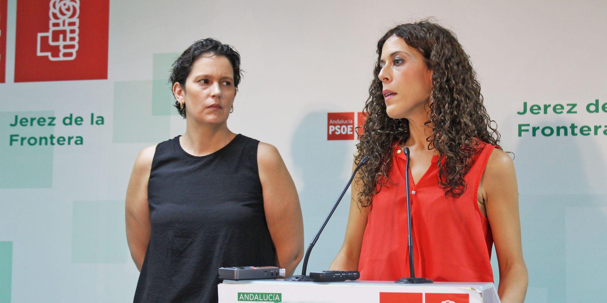 Miriam Alconchel Ainhoa Gil PSOE Jerez