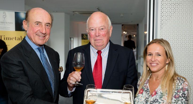 Beltrán Domecq, Graham Hines y Patricia De La Puerta