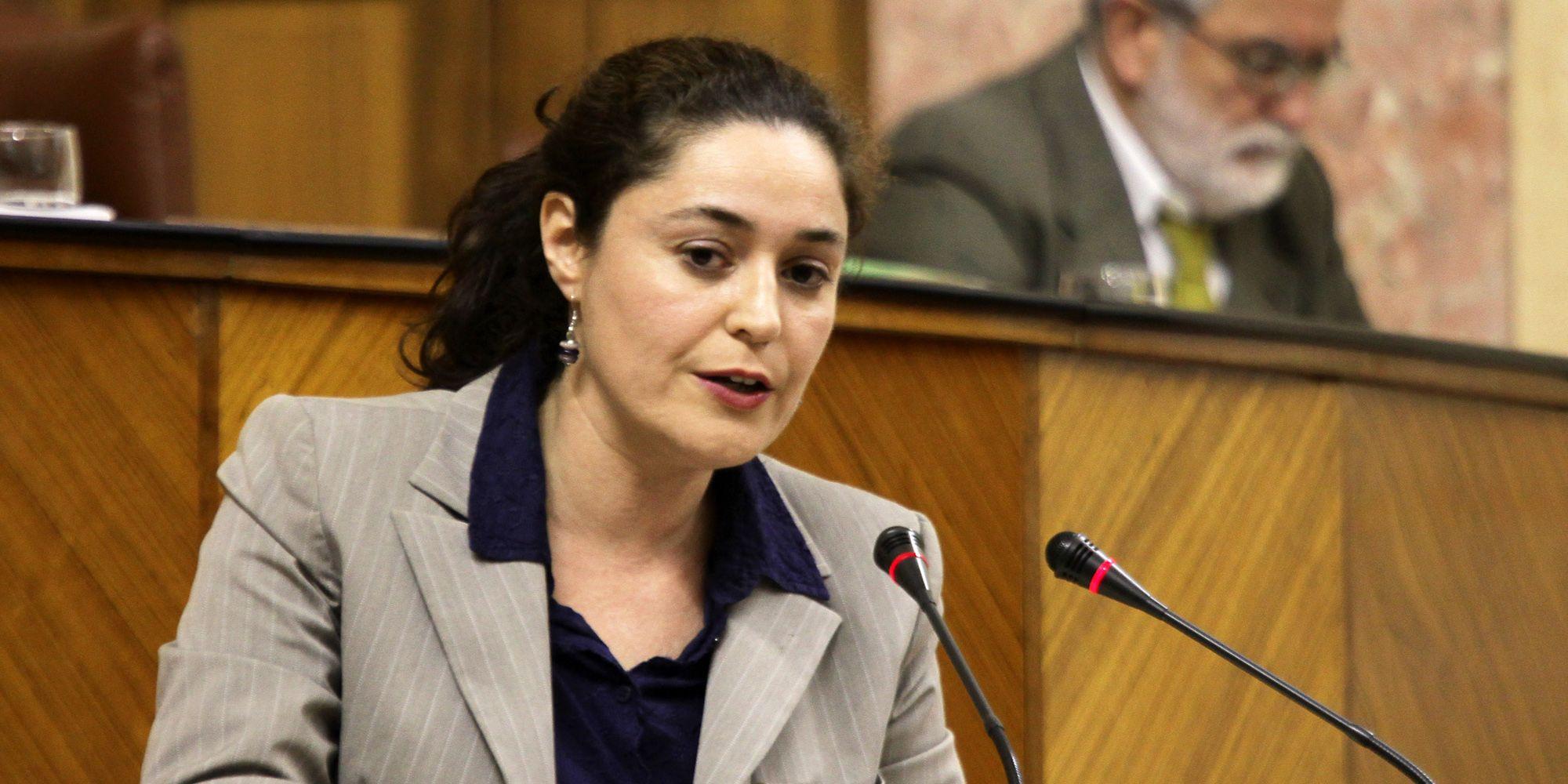 Imagen de archivo de la parlamentaria de IU, Inmaculada Nieto.