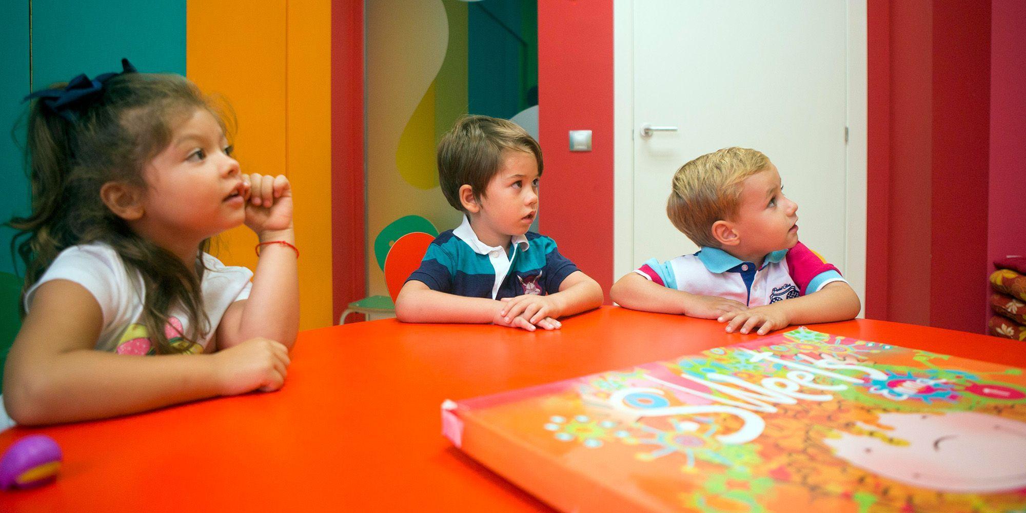 Alumnos en plena clase de Kids&Us Jerez | Juan Carlos Corchado para MIRA Jerez