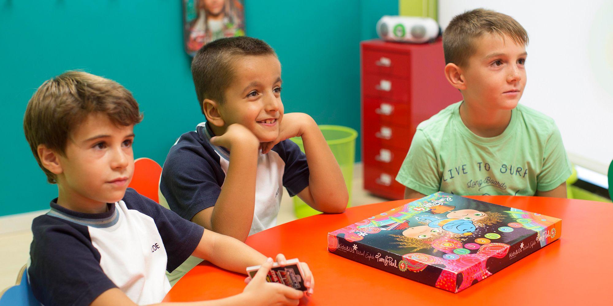 Alumnos en plena clase de Kids&Us Jerez   Juan Carlos Corchado para MIRA Jerez