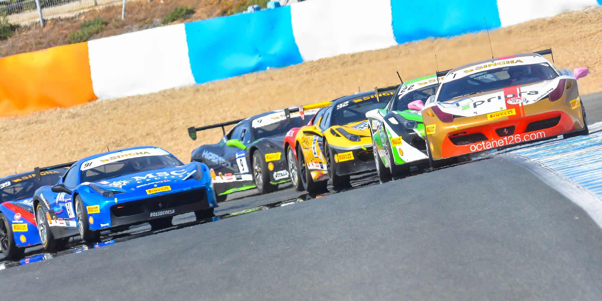 Salida de la 1ª manga del Trofeo Pirelli | Christian Cantizano para MIRA Jerez