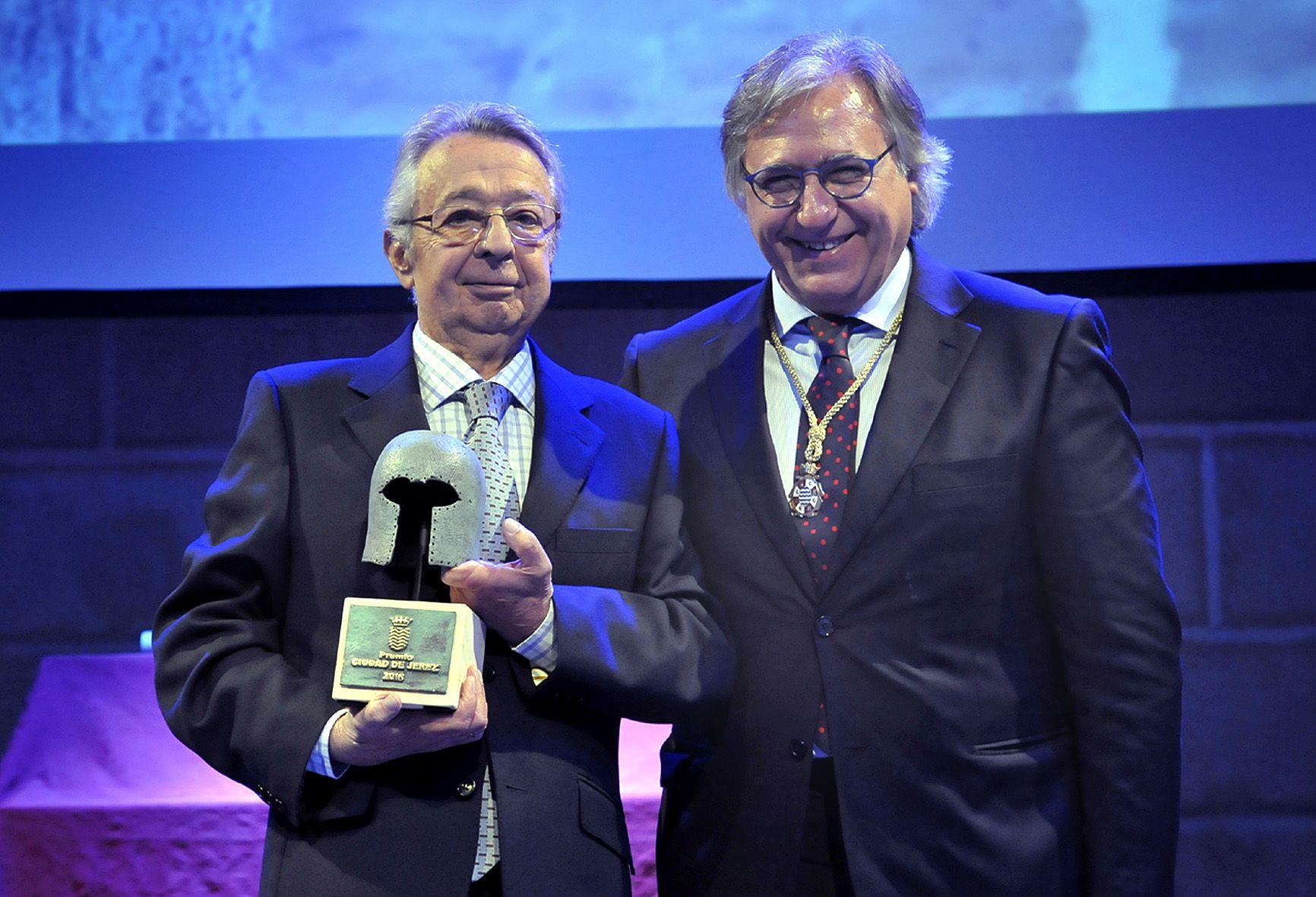 Premio Ciudad de Jerez a la Conservación para Fernando de la Quintana, profesional de la arquitectura
