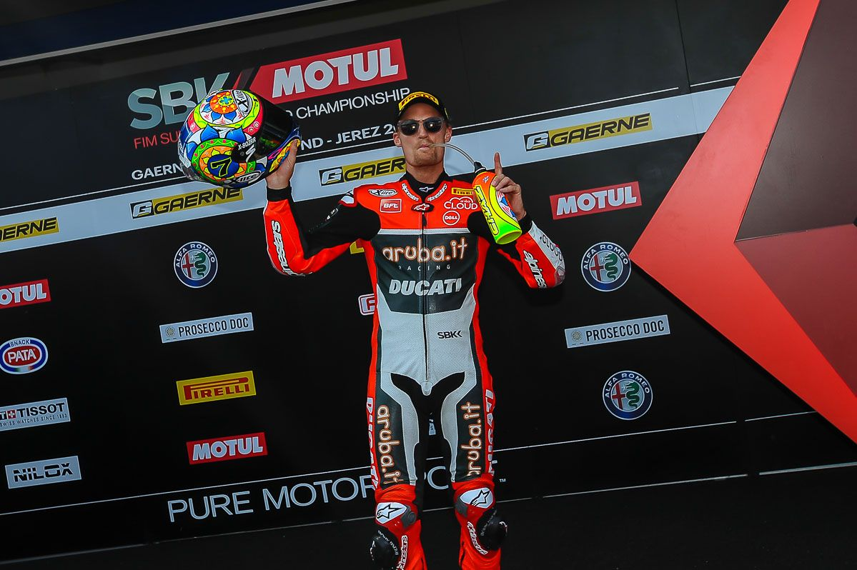 Chaz Davies vence en la Superbike | Christian Cantizano para MIRA Jerez