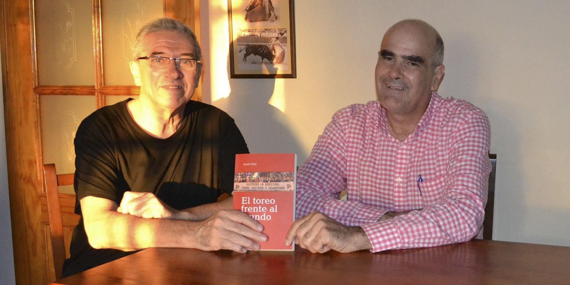 Santi Ortiz con Marciano Breña