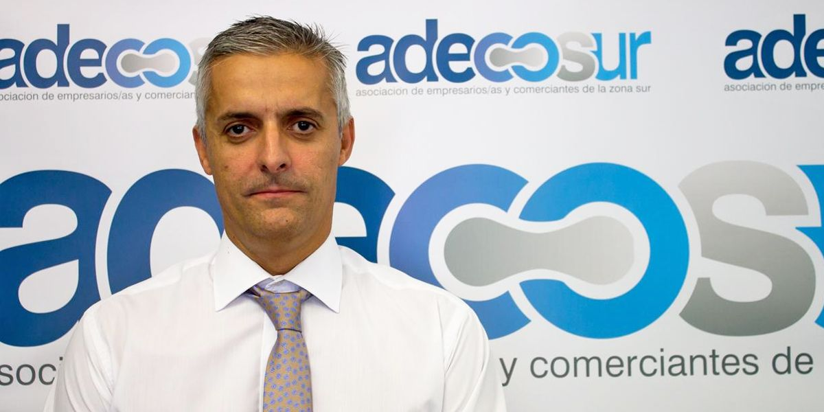 Javier Lobo, presidente de Adecosur