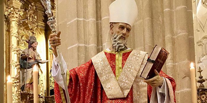 Imagen de San Dionisio n la parroquia del patrón de Jerez | Foto de Carlos Galera