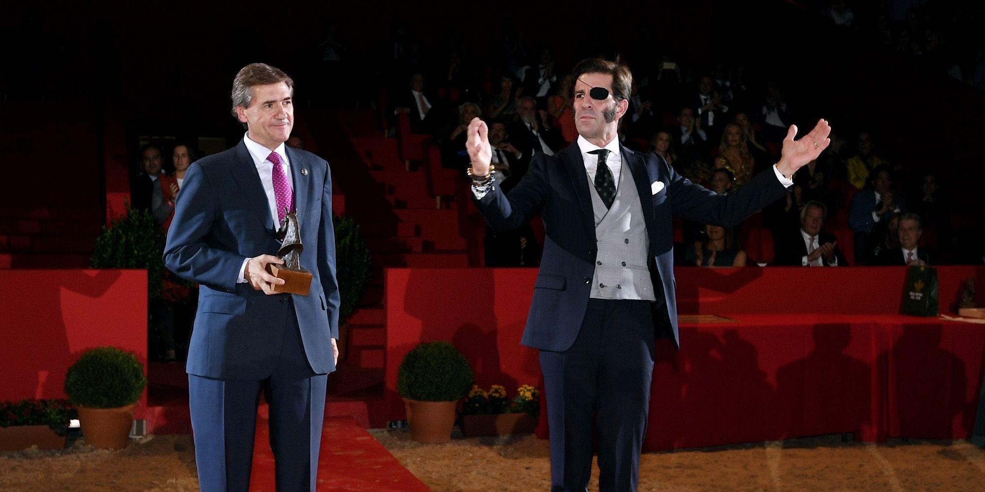 El torero jerezano Juan José Padilla, reconocido por el mundo del caballo con el premio Coraje | Cristobal Dueñas/AFC