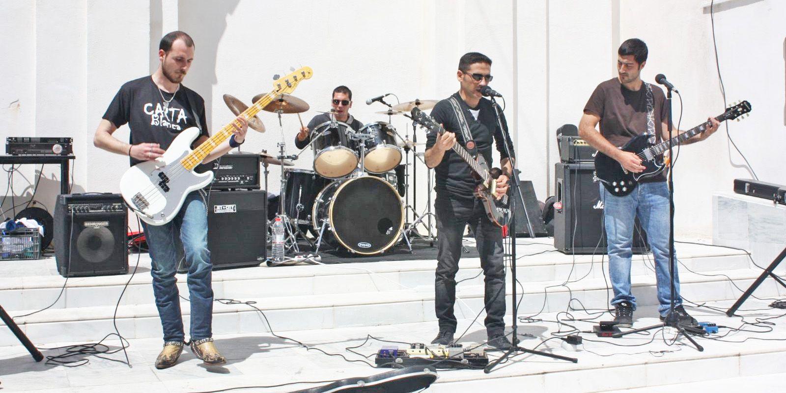 El grupo 39 carta blanca 39 cierra el ciclo musical 39 a pie de for Blanca romero grupo musical