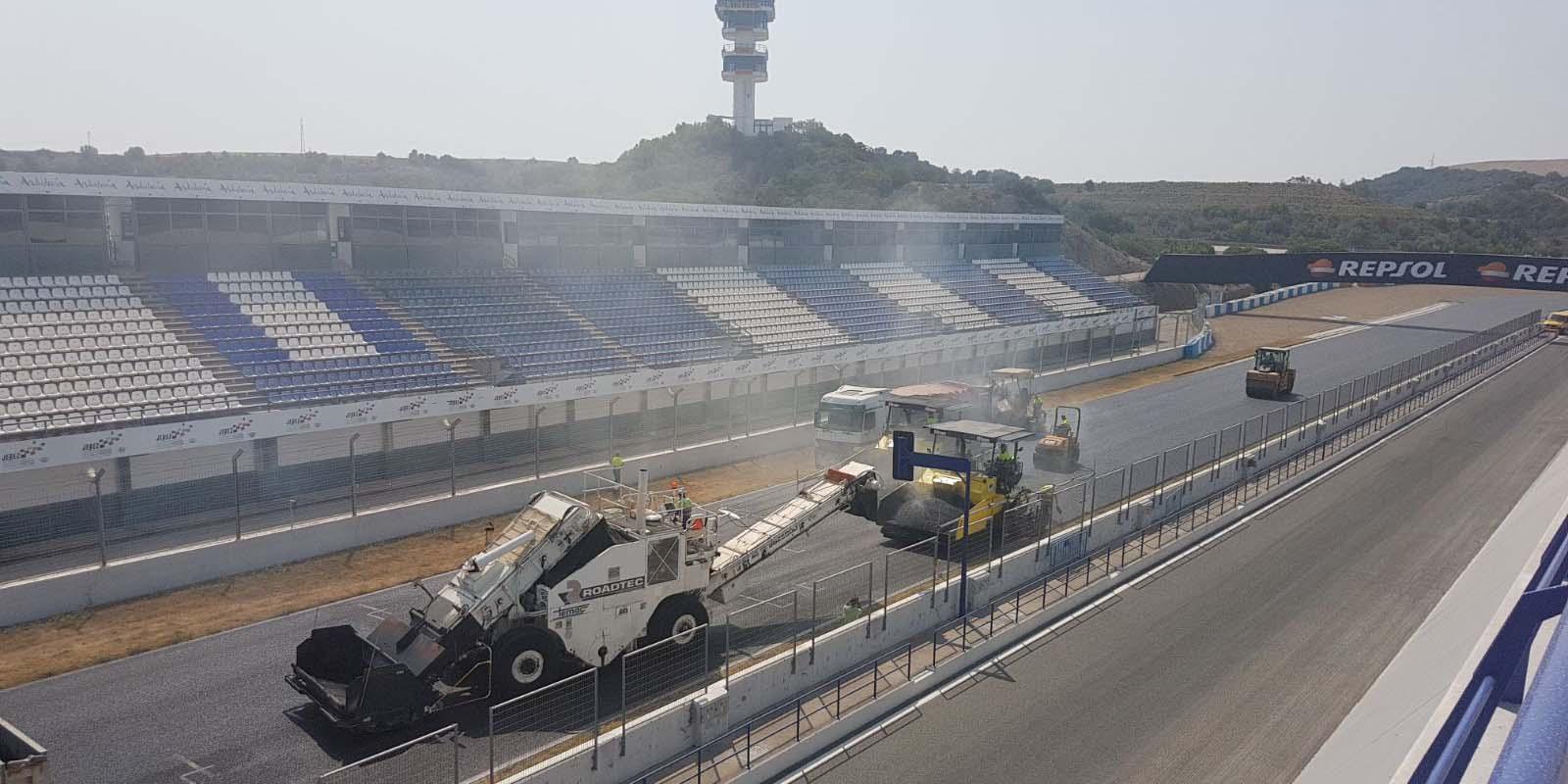 El Circuito de Jerez reanuda su actividad tras los trabajos de ...