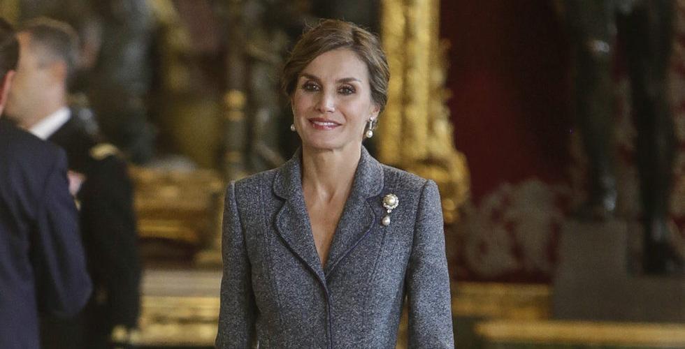 Letizia Reina Familia Real Rey