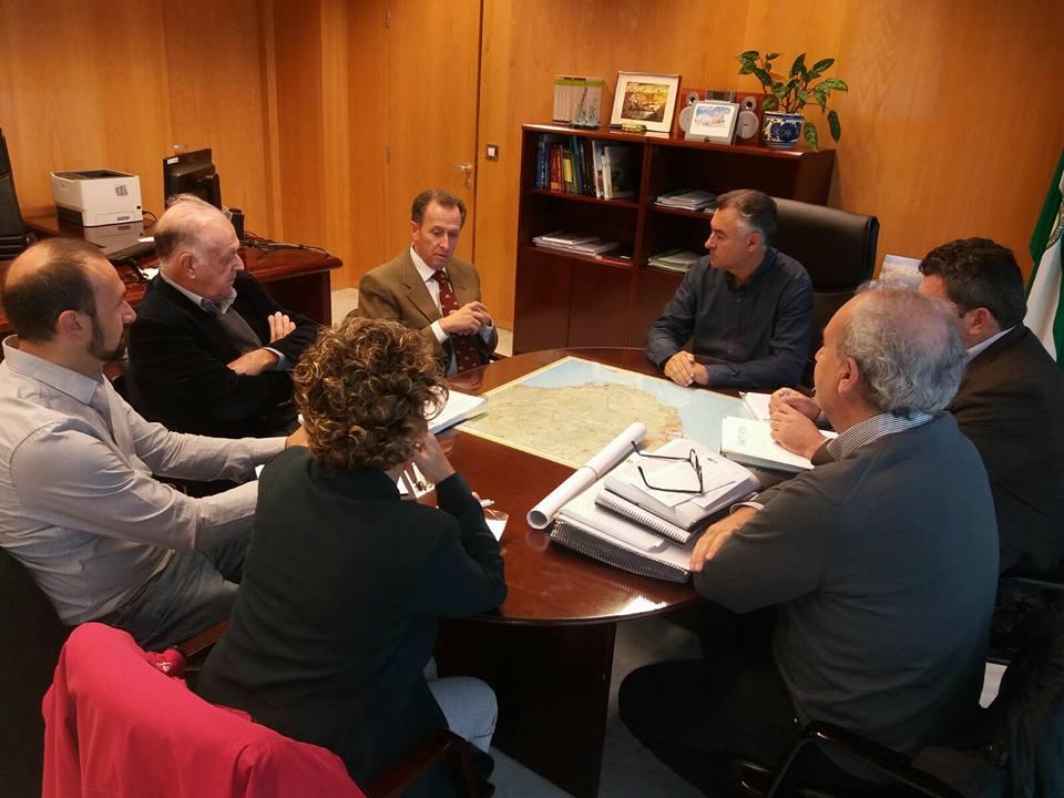 La junta de andaluc a recibe el plan especial de sancti for Junta de andalucia educacion oficina virtual