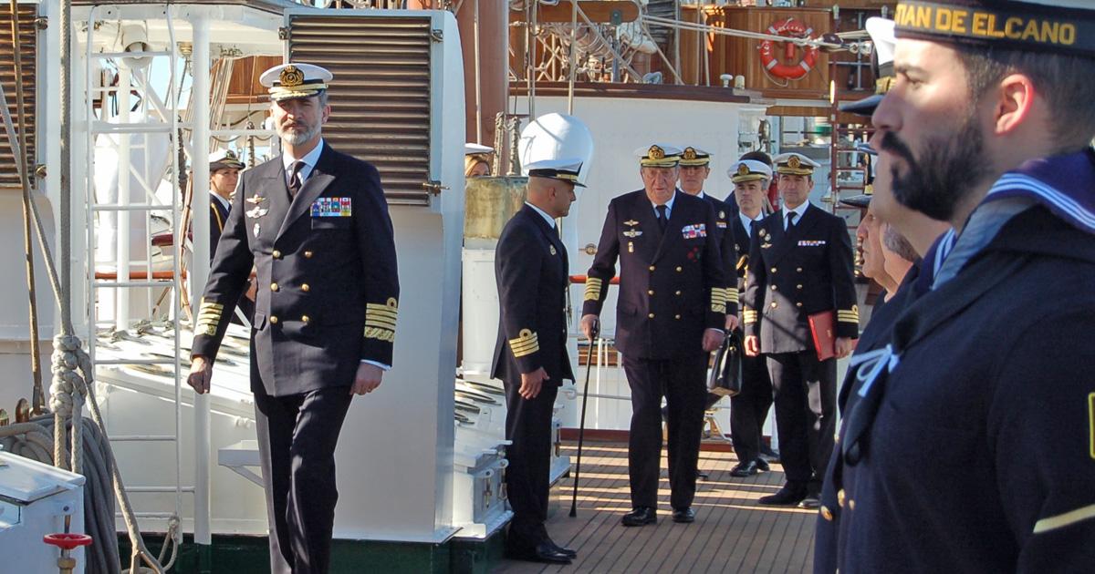 El Rey Felipe VI en una de sus últimas visitas a la provincia de Cádiz