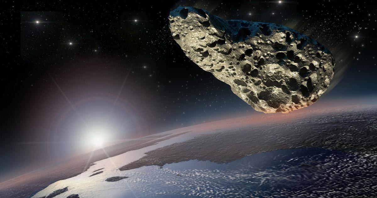 Resultado de imagen de Un peligroso meteorito se acerca