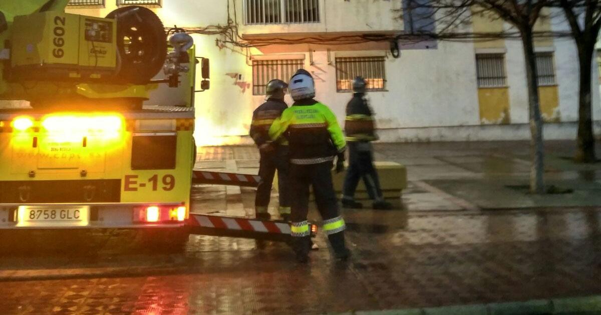 Incendio en una cocina en Mollina (Málaga)