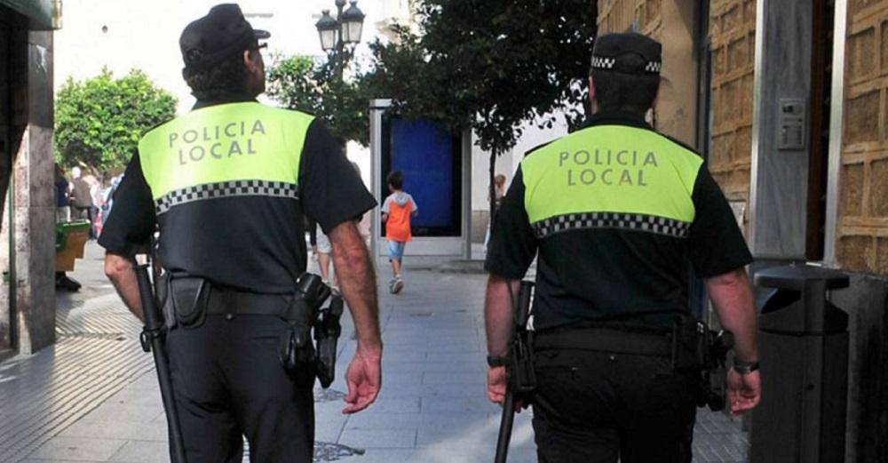 policía fiesta cádiz