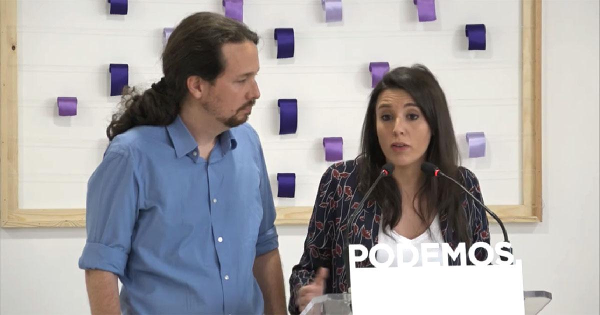 Pablo Iglesias e Irene Montero denuncian tuits amenazantes contra sus hijos