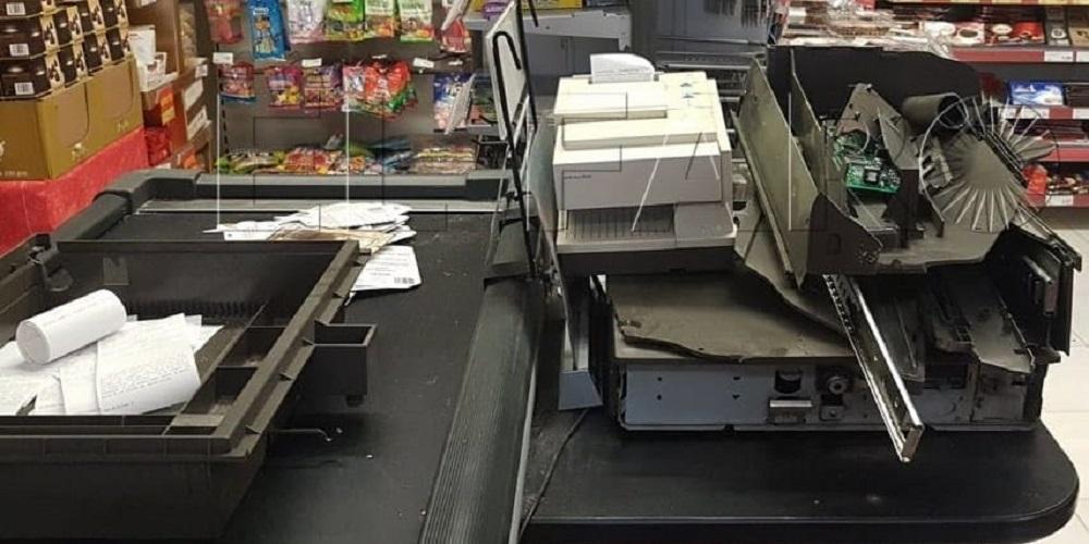 Robo supermercado