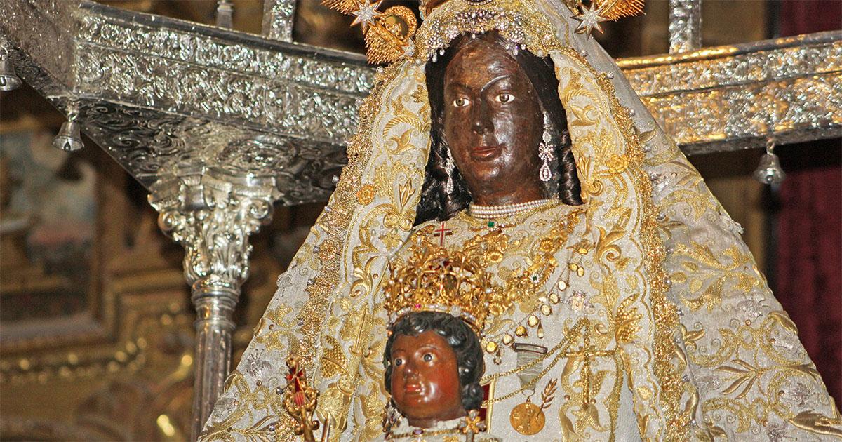 ¿Por qué es negra la Virgen de la Merced de Jerez?