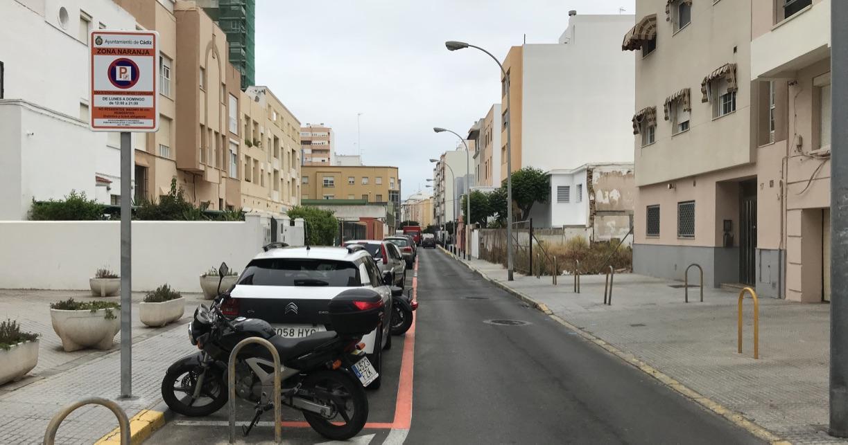 Cádiz estacionamiento regulado aparcar zonas